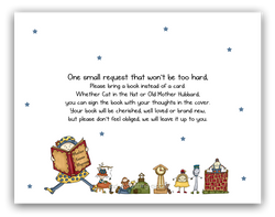 Mother Goose Nursery Rhyme •  Book Instead of Card