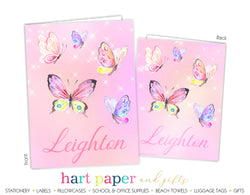 Butterflies Personalized 2-Pocket Folder School & Office Supplies - Everything Nice