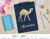 Camel Personalized Clipboard School & Office Supplies - Everything Nice