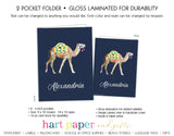 Camel Personalized 2-Pocket Folder School & Office Supplies - Everything Nice