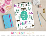 Camping Personalized Clipboard School & Office Supplies - Everything Nice