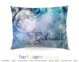 Moon Galaxy Stars Space Celestial Personalized Pillowcase Pillowcases - Everything Nice