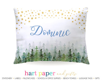 Stars Trees Camping Personalized Pillowcase Pillowcases - Everything Nice