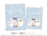 Cat Kitten 2-Pocket Folder School & Office Supplies - Everything Nice