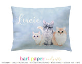 Cat Kitten Personalized Pillowcase Pillowcases - Everything Nice