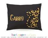 Cheetah Cat Personalized Pillowcase Pillowcases - Everything Nice