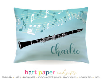 Clarinet Personalized Pillowcase Pillowcases - Everything Nice