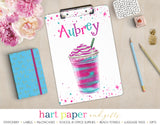 Coffee Rainbow Personalized Clipboard School & Office Supplies - Everything Nice