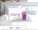 Coffee Drink Rainbow Personalized Pillowcase Pillowcases - Everything Nice