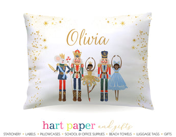 African American Nutcracker Ballet Personalized Pillowcase Pillowcases - Everything Nice