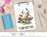 Dinosaur Personalized Clipboard School & Office Supplies - Everything Nice