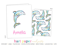 Dolphin Personalized 2-Pocket Folder School & Office Supplies - Everything Nice