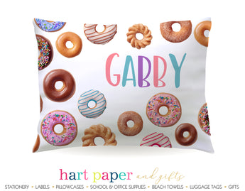 Donut Personalized Pillowcase Pillowcases - Everything Nice