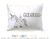 Unicorn Rainbow Personalized Pillowcase Pillowcases - Everything Nice