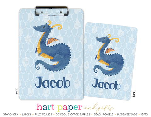 Dragon Personalized Clipboard School & Office Supplies - Everything Nice