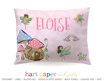 Fairy Garden Personalized Pillowcase Pillowcases - Everything Nice