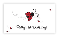 Ladybug • Favor Tags or Registry Cards Favor Tags & Registry Cards - Everything Nice
