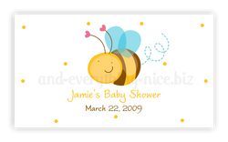 Cute Bumble Bee • Favor Tags or Registry Cards Favor Tags & Registry Cards - Everything Nice