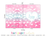 Sparkle Hearts 2-Pocket Folder