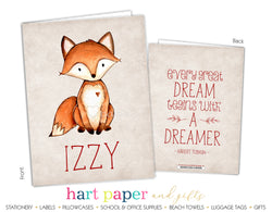 Fox Personalized 2-Pocket Folder School & Office Supplies - Everything Nice