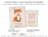 Fox 2-Pocket Folder School & Office Supplies - Everything Nice