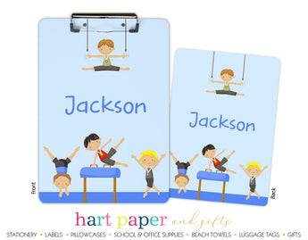 Gymnastics Personalized Clipboard School & Office Supplies - Everything Nice