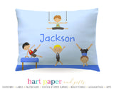 Gymnastics Boys Personalized Pillowcase Pillowcases - Everything Nice