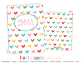 Rainbow Hearts b 2-Pocket Folder