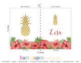 Pineapple Personalized Notebook or Sketchbook School & Office Supplies - Everything Nice