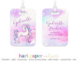 Horse Luggage Bag Tag School & Office Supplies - Everything Nice