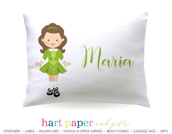 Irish Dancer Personalized Pillowcase Pillowcases - Everything Nice