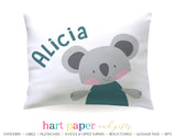 Koala Bear Personalized Pillowcase Pillowcases - Everything Nice