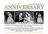 Photo Anniversary Party Invitation c • Any Colors