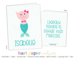 Mercat Mermaid Cat 2-Pocket Folder School & Office Supplies - Everything Nice