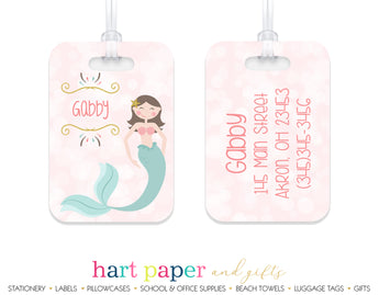 Mermaid Luggage Bag Tag School & Office Supplies - Everything Nice