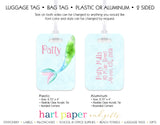 Mermaid Tail Luggage Bag Tag School & Office Supplies - Everything Nice