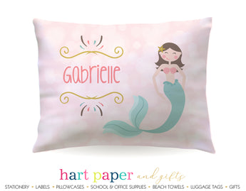 Mermaid Personalized Pillowcase Pillowcases - Everything Nice
