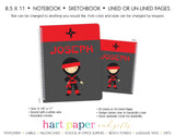 Ninja Karate Personalized Notebook or Sketchbook School & Office Supplies - Everything Nice
