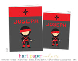 Ninja Karate Personalized 2-Pocket Folder School & Office Supplies - Everything Nice
