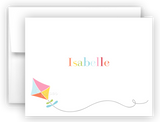 Rainbow Kite Thank You Cards Note Card Stationery •  Flat, Folded or Fill-In-the-Blank