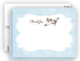 Vintage Airplane III Thank You Cards Note Card Stationery •  Flat, Folded or Fill-In-the-Blank