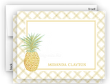 Pineapple III Thank You Cards Note Card Stationery •  Flat, Folded or Fill-In-the-Blank
