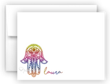 Hamsa b Thank You Cards Note Card Stationery •  Flat or Folded Stationery Thank You Cards - Everything Nice