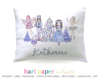Nutcracker Ballet Personalized Pillowcase Pillowcases - Everything Nice