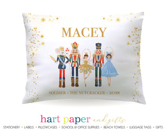 Nutcracker Ballet with Role & Show Personalized Pillowcase Pillowcases - Everything Nice