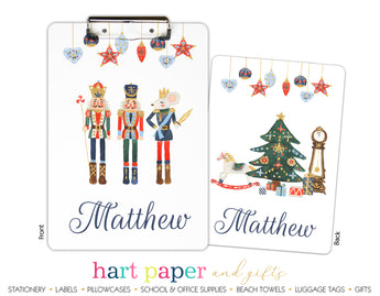 Nutcracker Personalized Clipboard School & Office Supplies - Everything Nice
