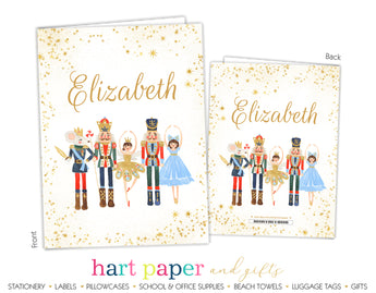 Nutcracker Ballet Personalized 2-Pocket Folder School & Office Supplies - Everything Nice