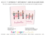 Nutcracker Personalized Notebook or Sketchbook School & Office Supplies - Everything Nice