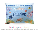 Fish Ocean Personalized Pillowcase Pillowcases - Everything Nice