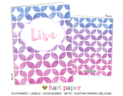 Ombre Personalized 2-Pocket Folder